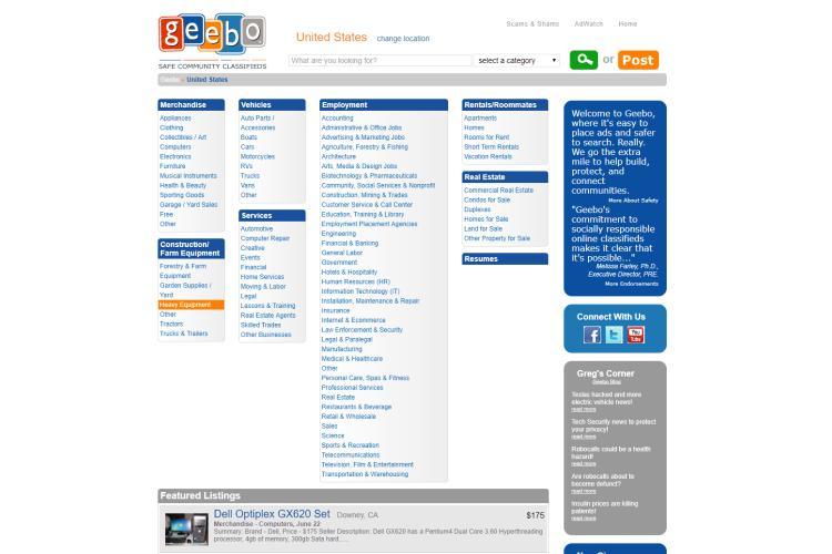 Online Selling Sites like Craigslist 2019