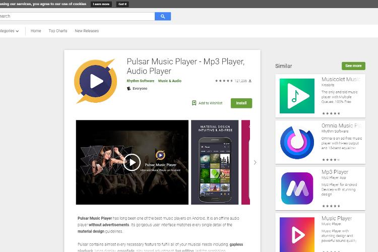 30 Best Music Player for Android 2019